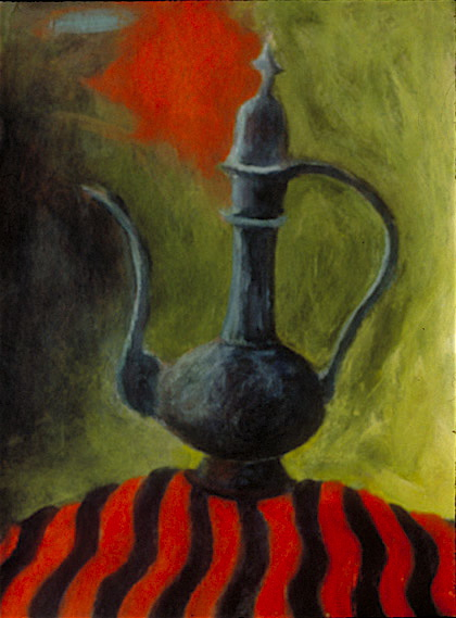 Genie with Bottle