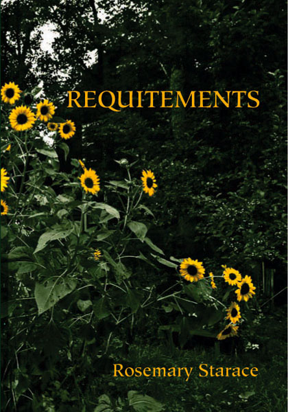 Requitements, poetry by Rosemary Starace, front cover