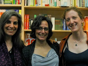 L. to r., Rosemary Starace, Julia Lisella, Ellen Goldstein