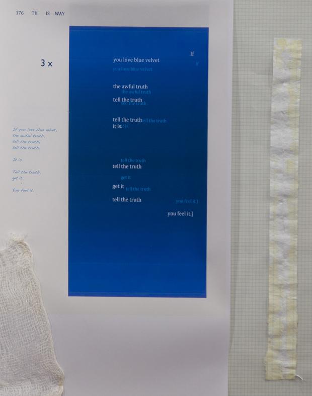 If you love blue velvet, detail 2