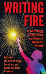 Writing Fire Anthology cover