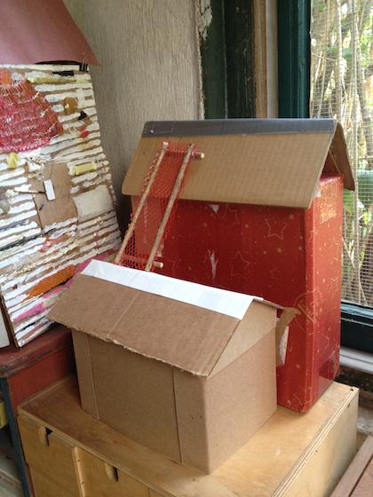 House group barn ladder, Rosemary Starace
