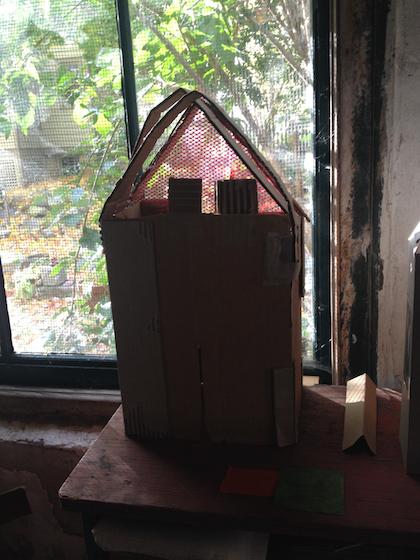 House red screen, Rosemary Starace