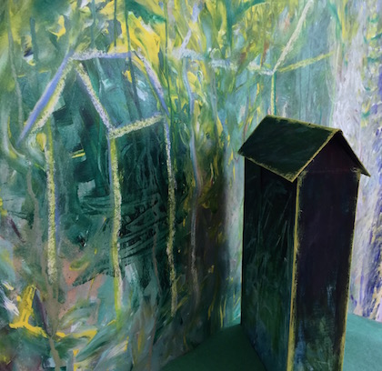 R Starace 3 Cabins painting, w structure, detail